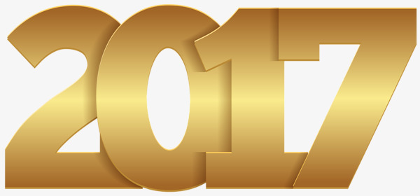2017 clipart gold. Wordart golden deformation word