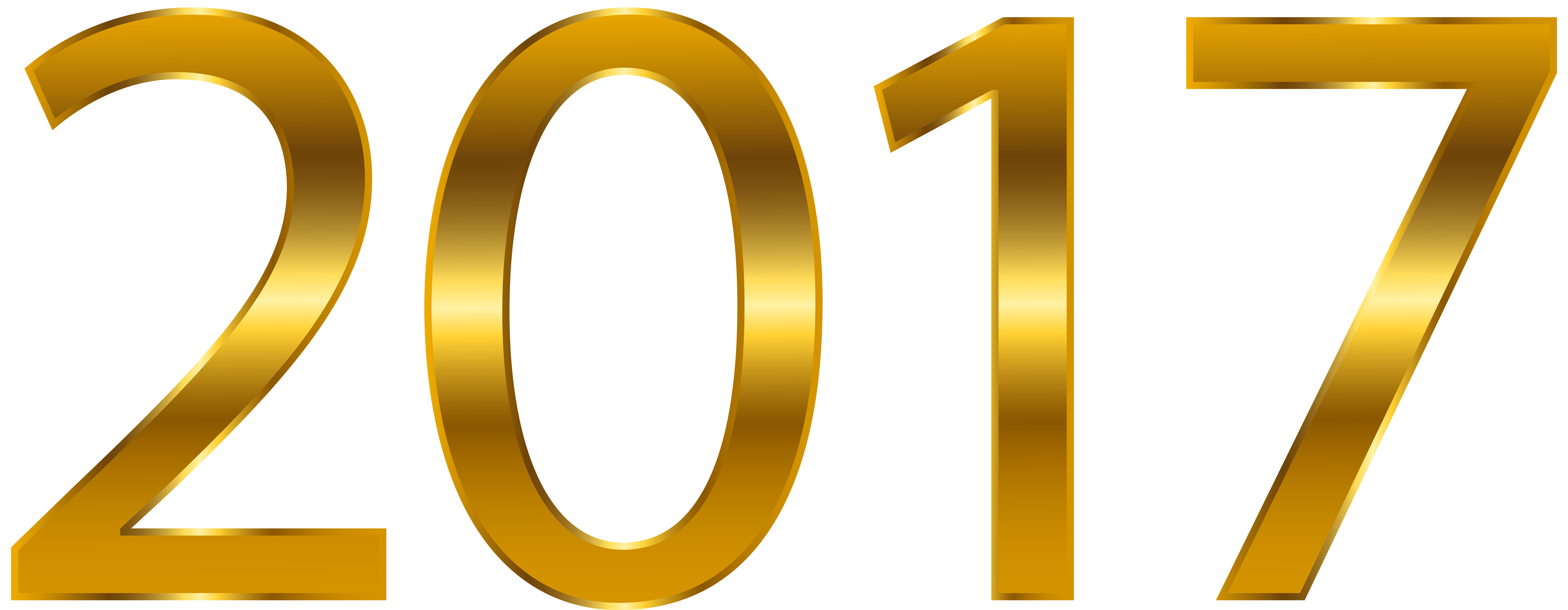 transparent png clip. 2017 clipart gold