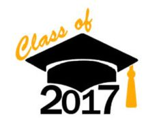 Class of instant download. 2017 clipart graduation hat