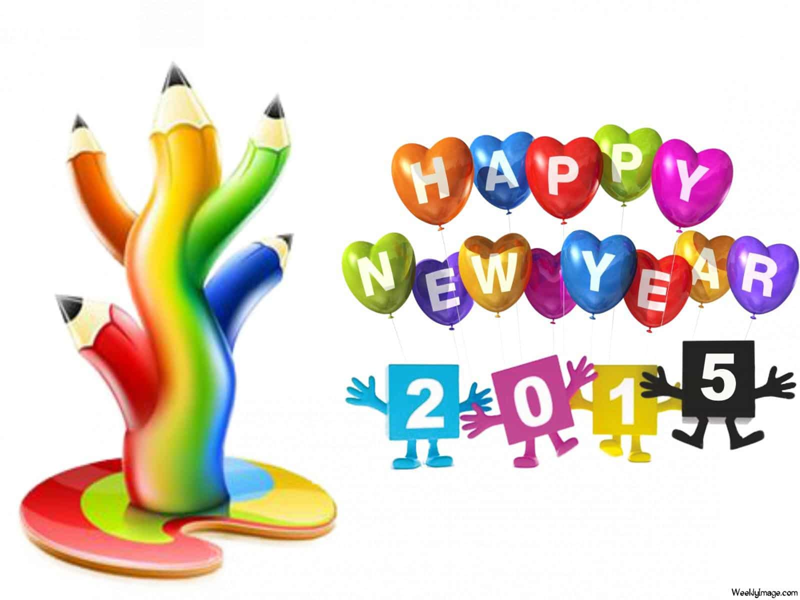 2017 clipart happy. Free new year greeting