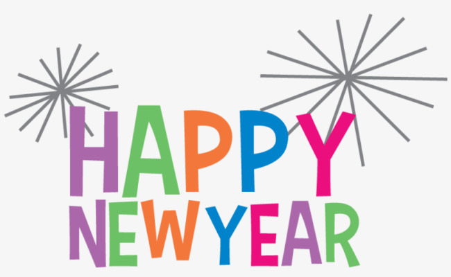 Newyear new year png. 2017 clipart happy