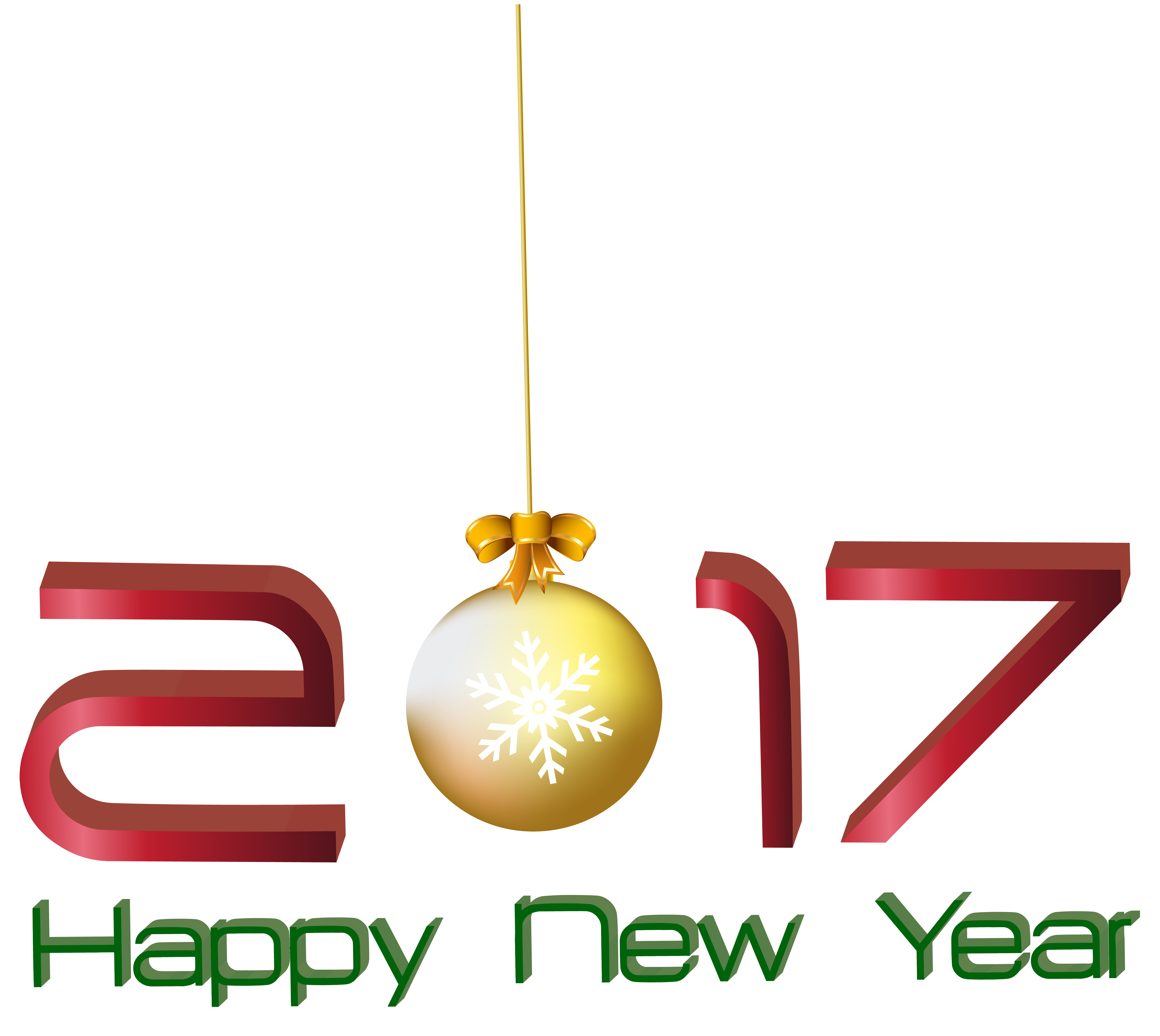 2017 clipart happy.  new year transparent