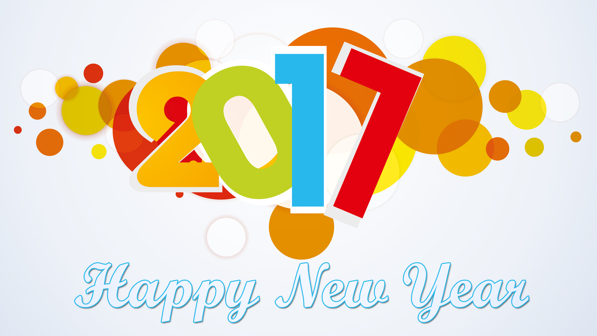 Holiday new year . 2017 clipart happy