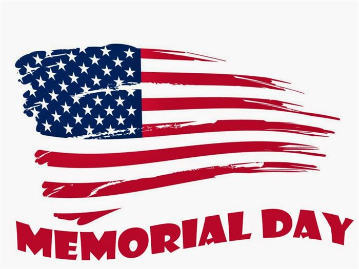 Happy banner images clip. Funeral clipart memorial day