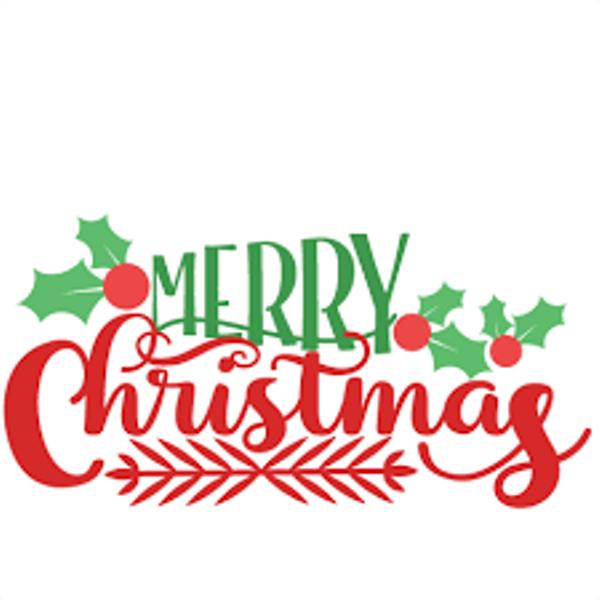 . 2017 clipart merry christmas