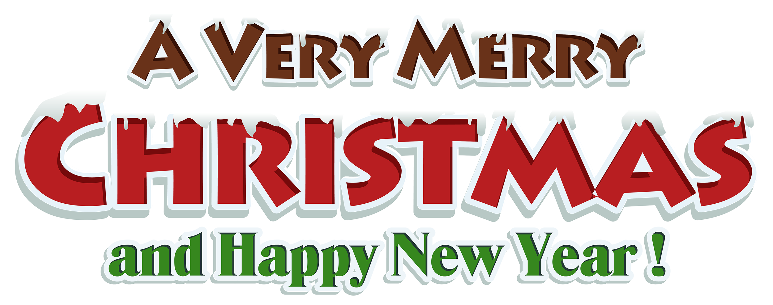Red text decor clipart. Merry christmas png images
