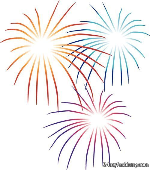 Happy year fireworks images. 2017 clipart new year's