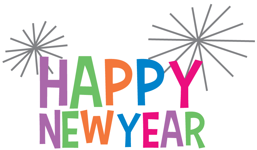2018 clipart new year. Happy free download wish