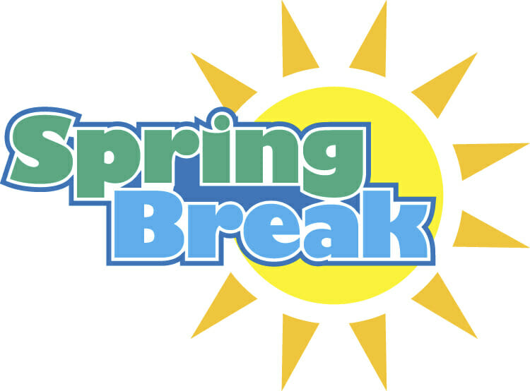 break vacation hot. 2017 clipart spring