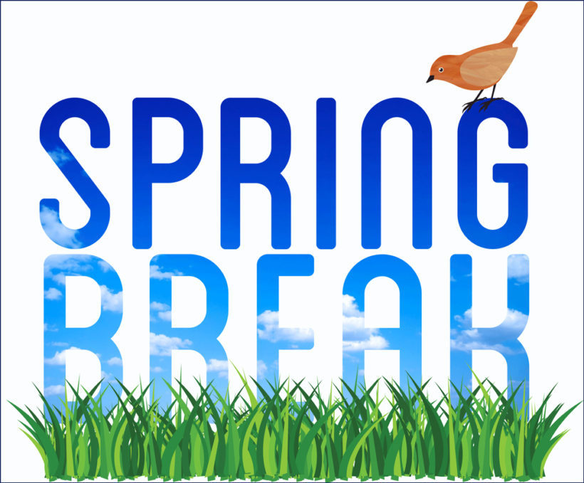 Break . 2017 clipart spring