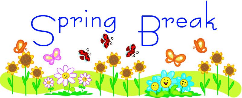 School break clip art. 2017 clipart spring
