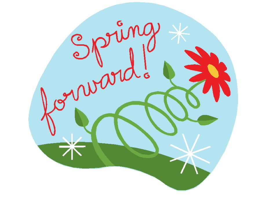 It s that time. 2017 clipart spring forward