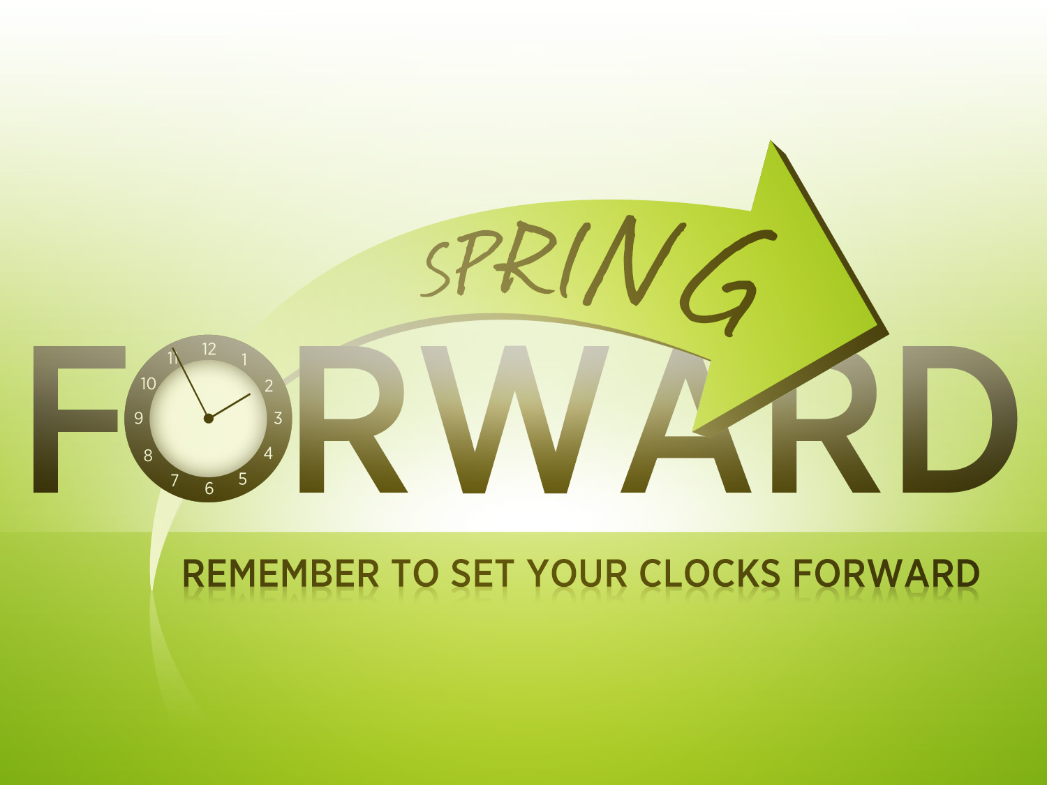 2017 clipart spring forward. Station