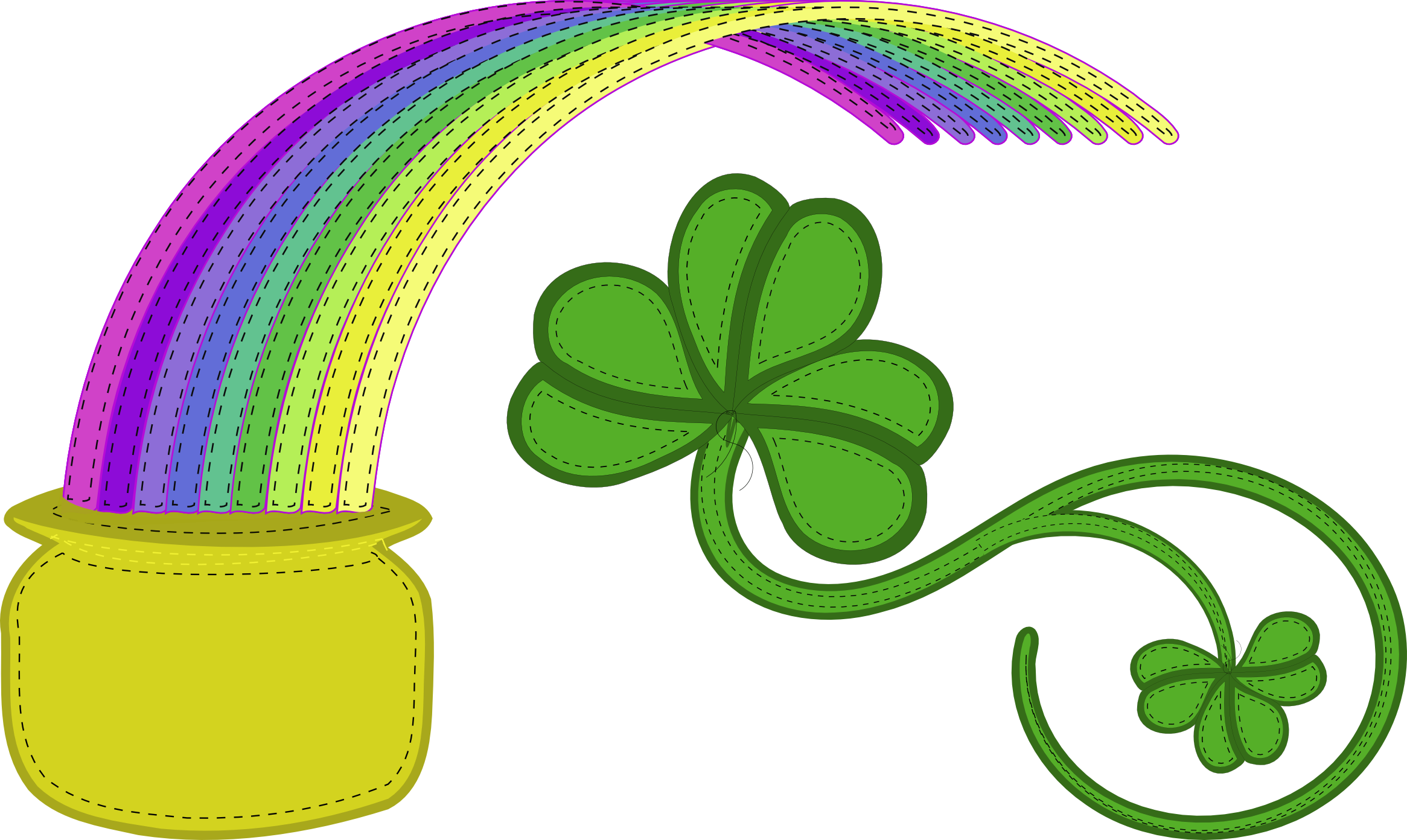 2017 clipart st patrick's day. Patty s eye draw