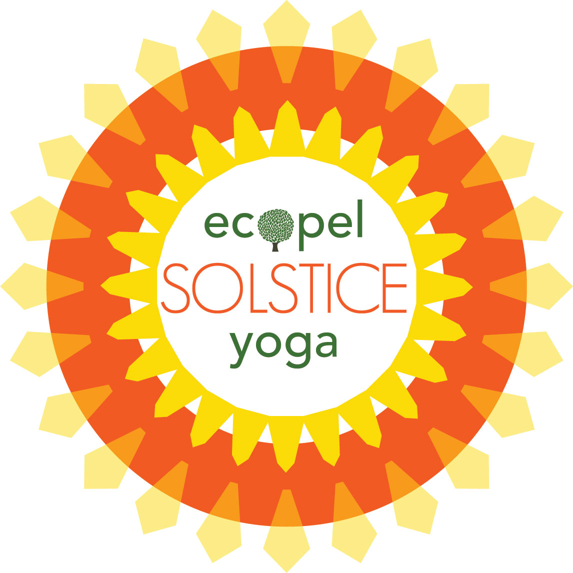 Yoga ticket ecopel. 2017 clipart summer solstice