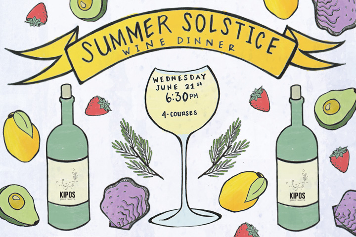 2017 clipart summer solstice. Wine dinner kipos