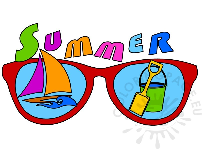 Pictures clip art coloring. 2017 clipart summer