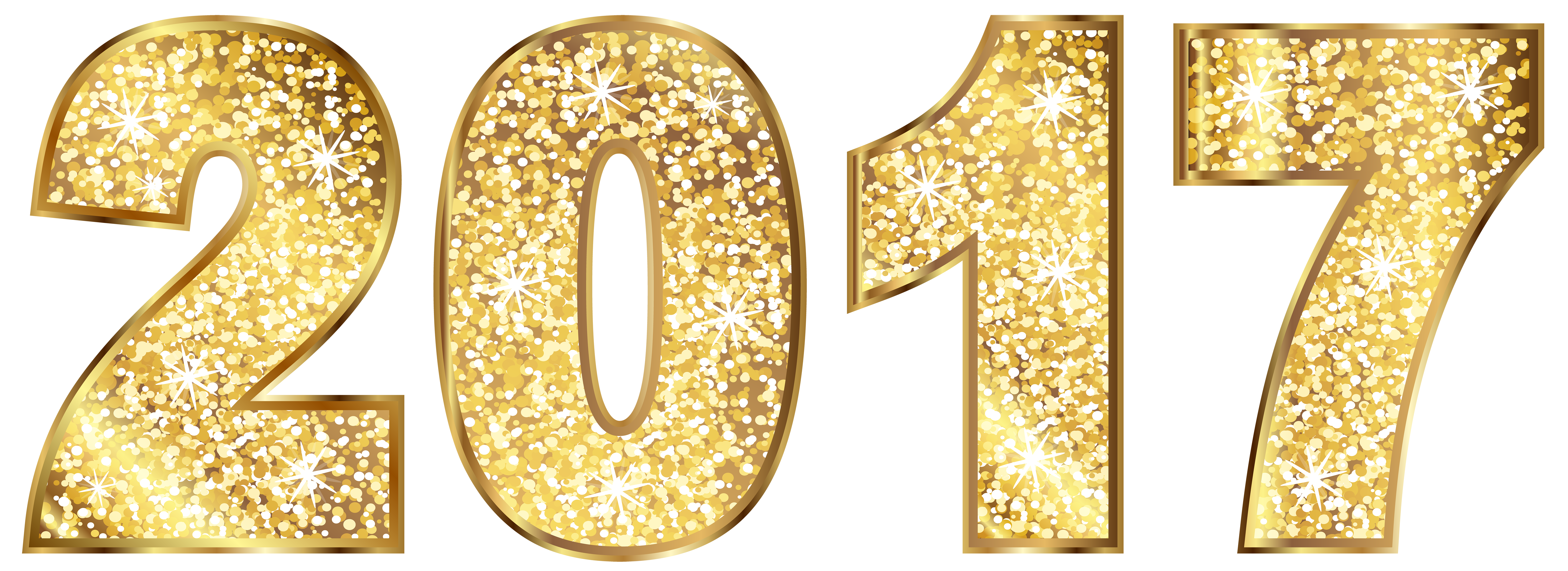 2017 clipart transparent background.  gold clip art