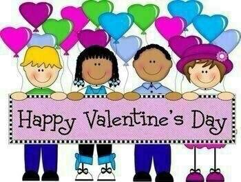 2017 clipart valentine's day. Kids wishing you happy