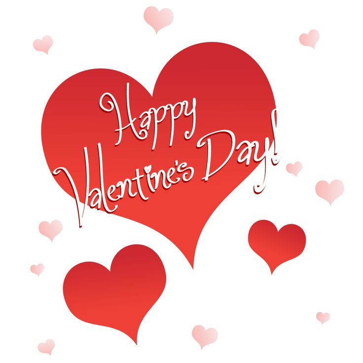 Happy valentine s hearts. 2017 clipart valentine's day