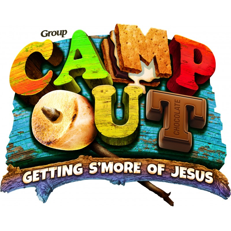 2017 clipart vbs. Camp out weekend