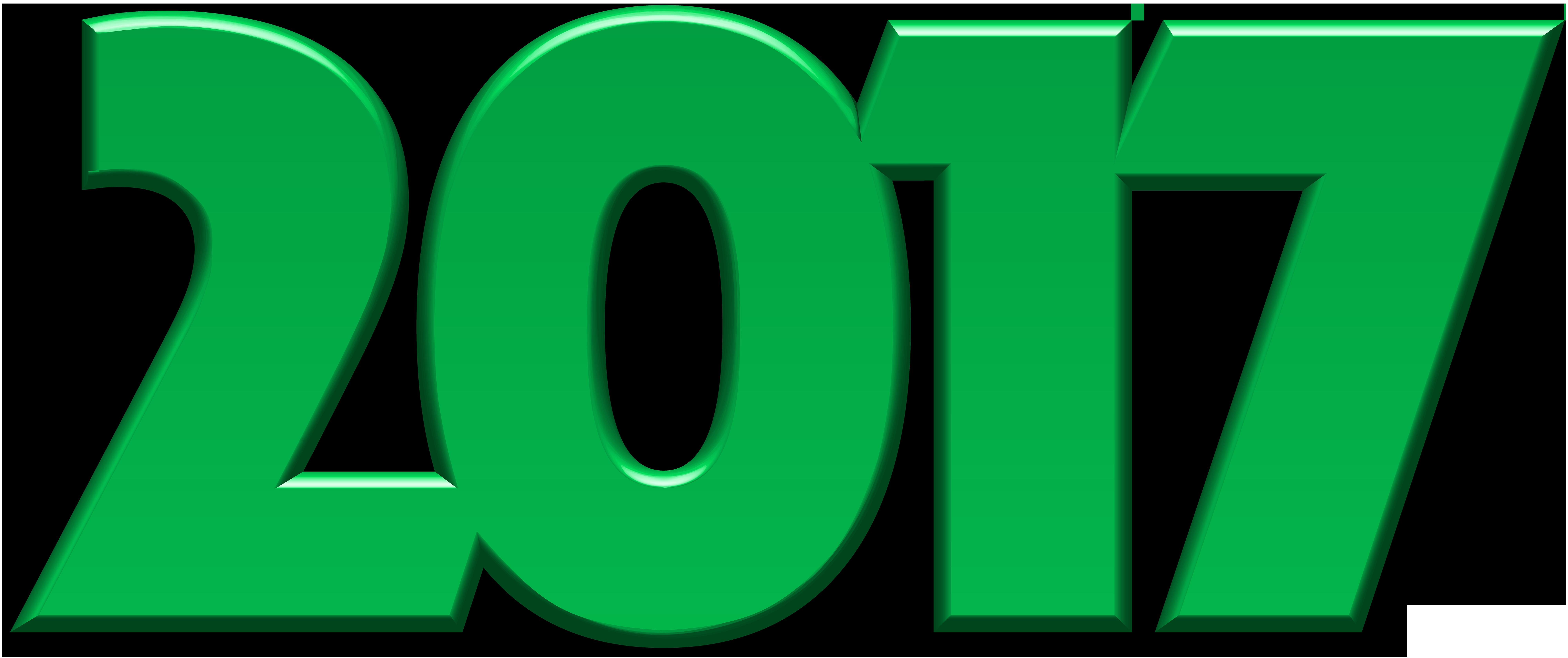 2017 clipart.  green png clip