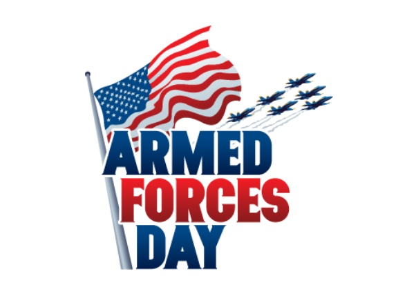 Hanging off the wire. 2018 clipart armed forces day