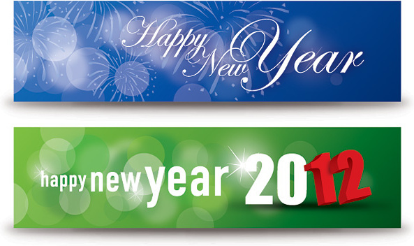 2018 clipart banner. Happy new year clip