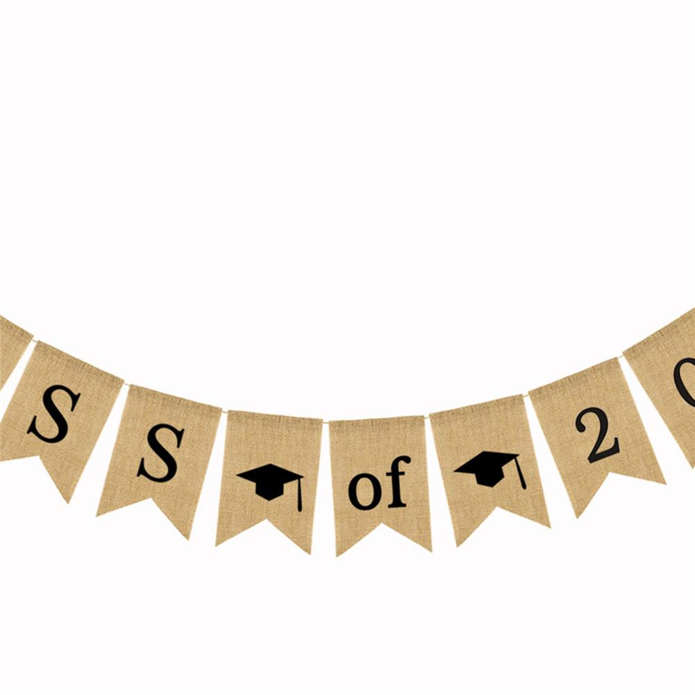 2018 clipart banner. Class of bunting congrats