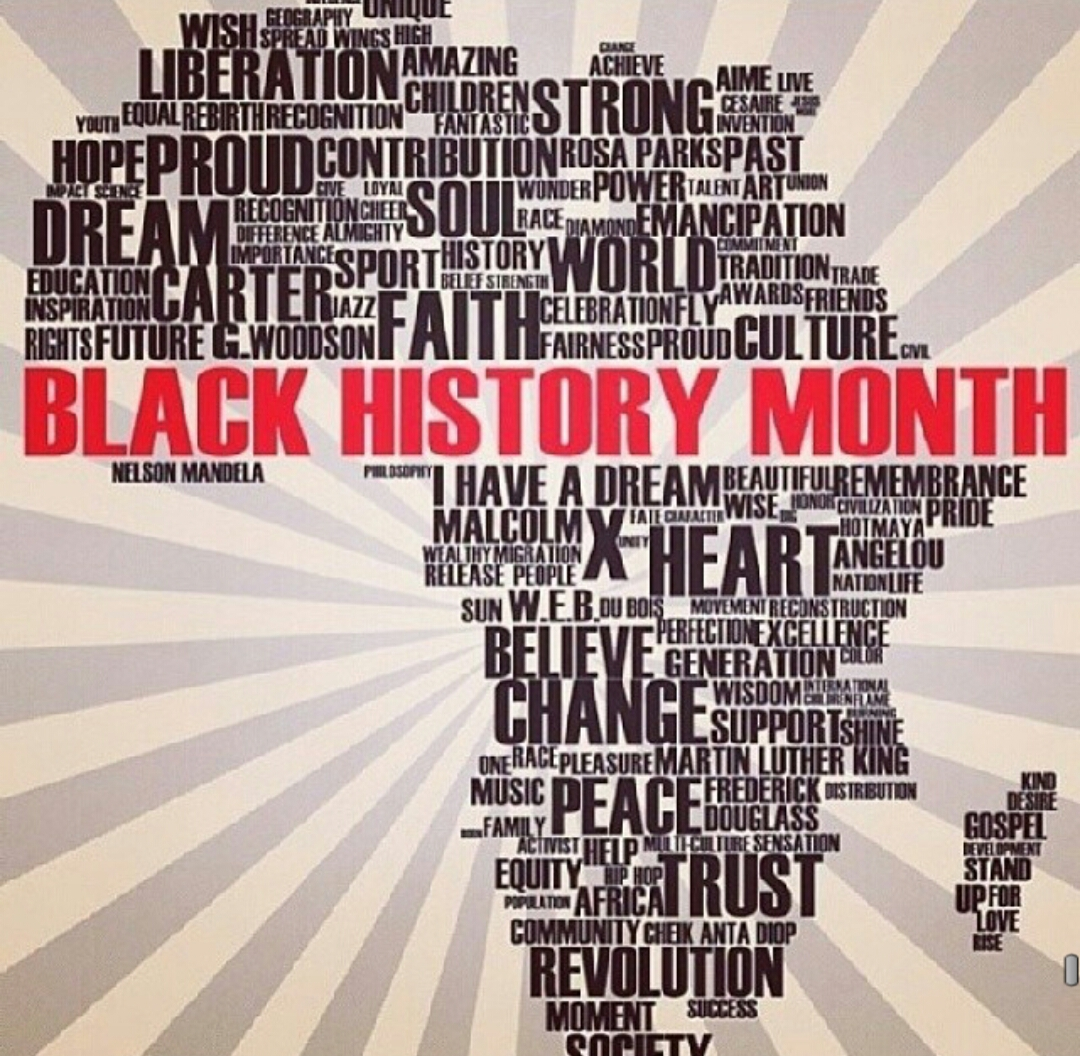 Beautiful people tribute ride. 2018 clipart black history month