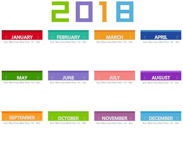 best calendar images. 2018 clipart calender