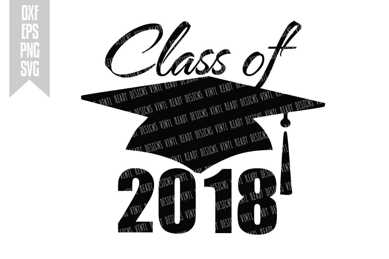 Graduation of vector clip. 2018 clipart class