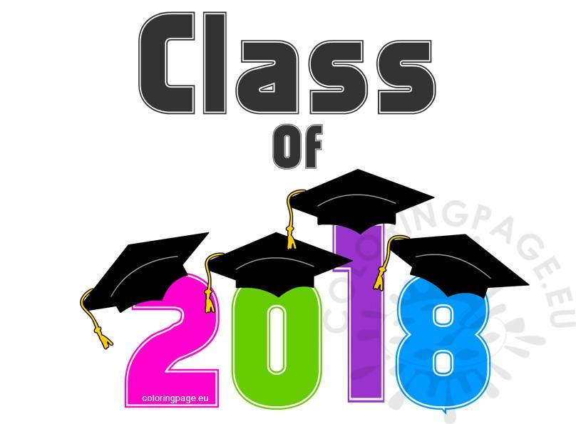 Multicolor graduation of coloring. 2018 clipart class