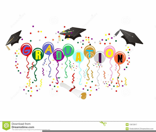 2018 clipart confetti. Graduation free images at