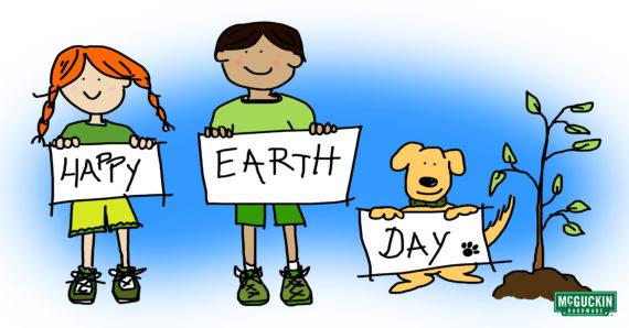 Cilpart vibrant creative birthday. 2018 clipart earth day