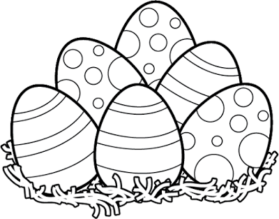Black and white happy. 2018 clipart easter egg