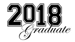 2018 clipart graduation. Free clip art by