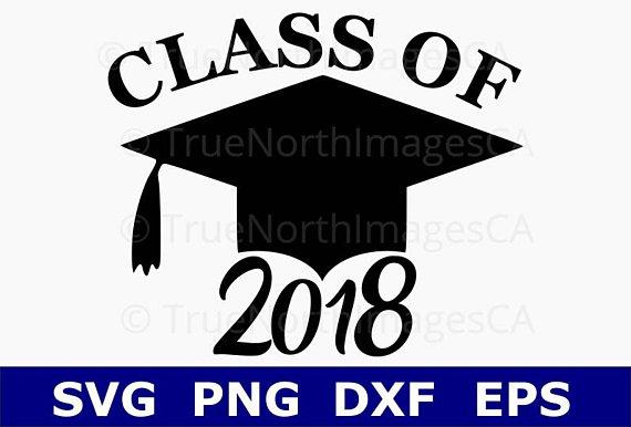 Class of svg . 2018 clipart graduation cap