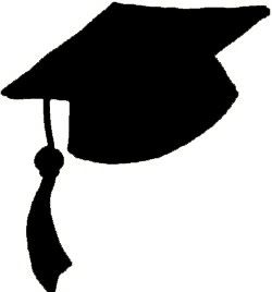 Flying caps clip art. 2016 clipart graduation hat