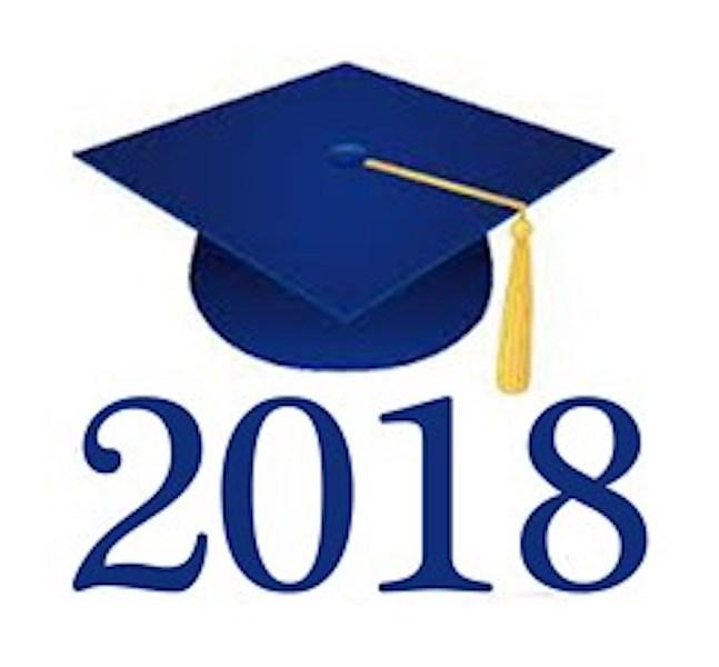 2018 clipart graduation hat. Class of awaits the