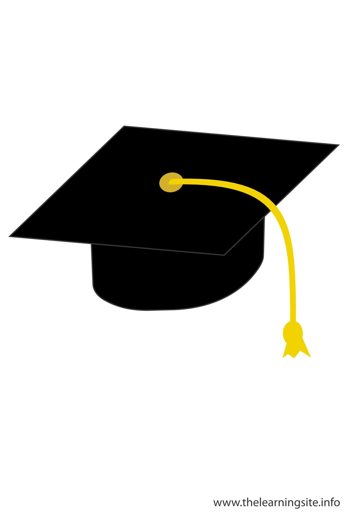 Graduation clipart graduation hat. Cap class of kid