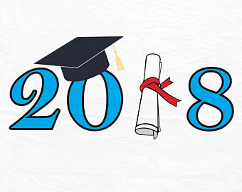 2018 clipart graduation hat. Svg etsy