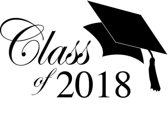 2018 clipart graduation. Class of clip art