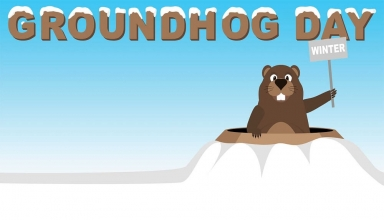 2018 clipart groundhog day. Coloring pages archives page
