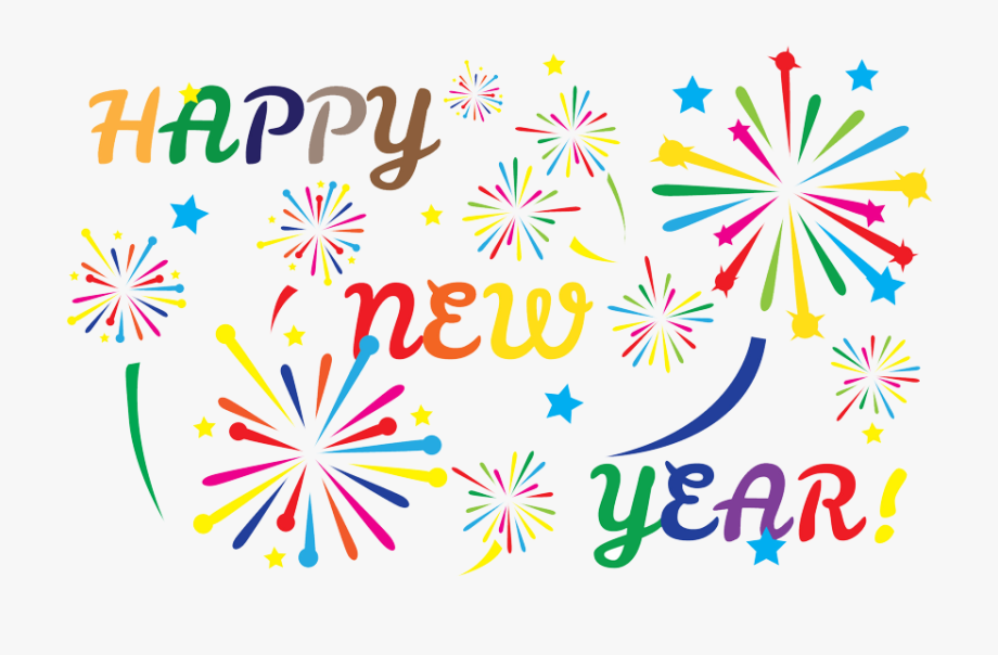Graphic transparent library year. 2018 clipart happy new years