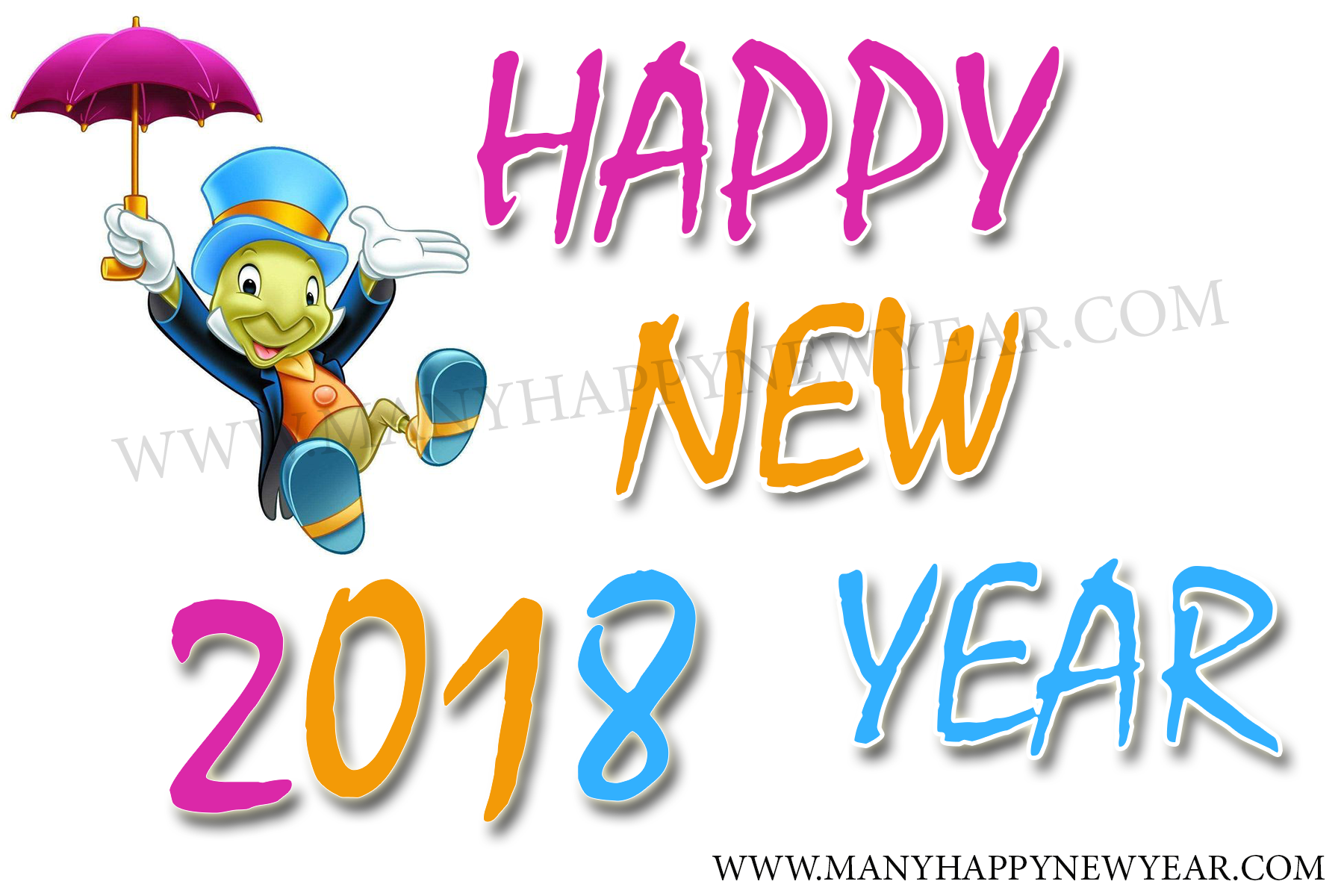 2018 clipart happy new years. Year clip art vector