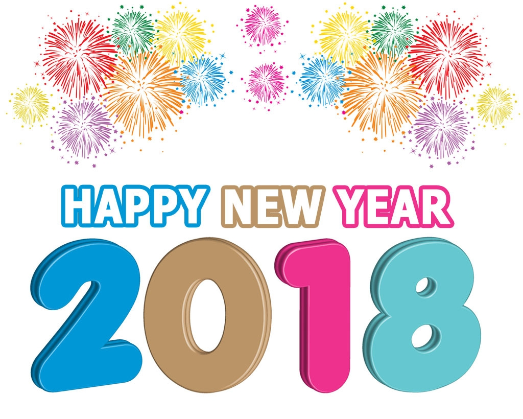 Year gallery digital collection. 2018 clipart happy new years