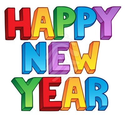 2018 clipart happy new years. Year wish you a