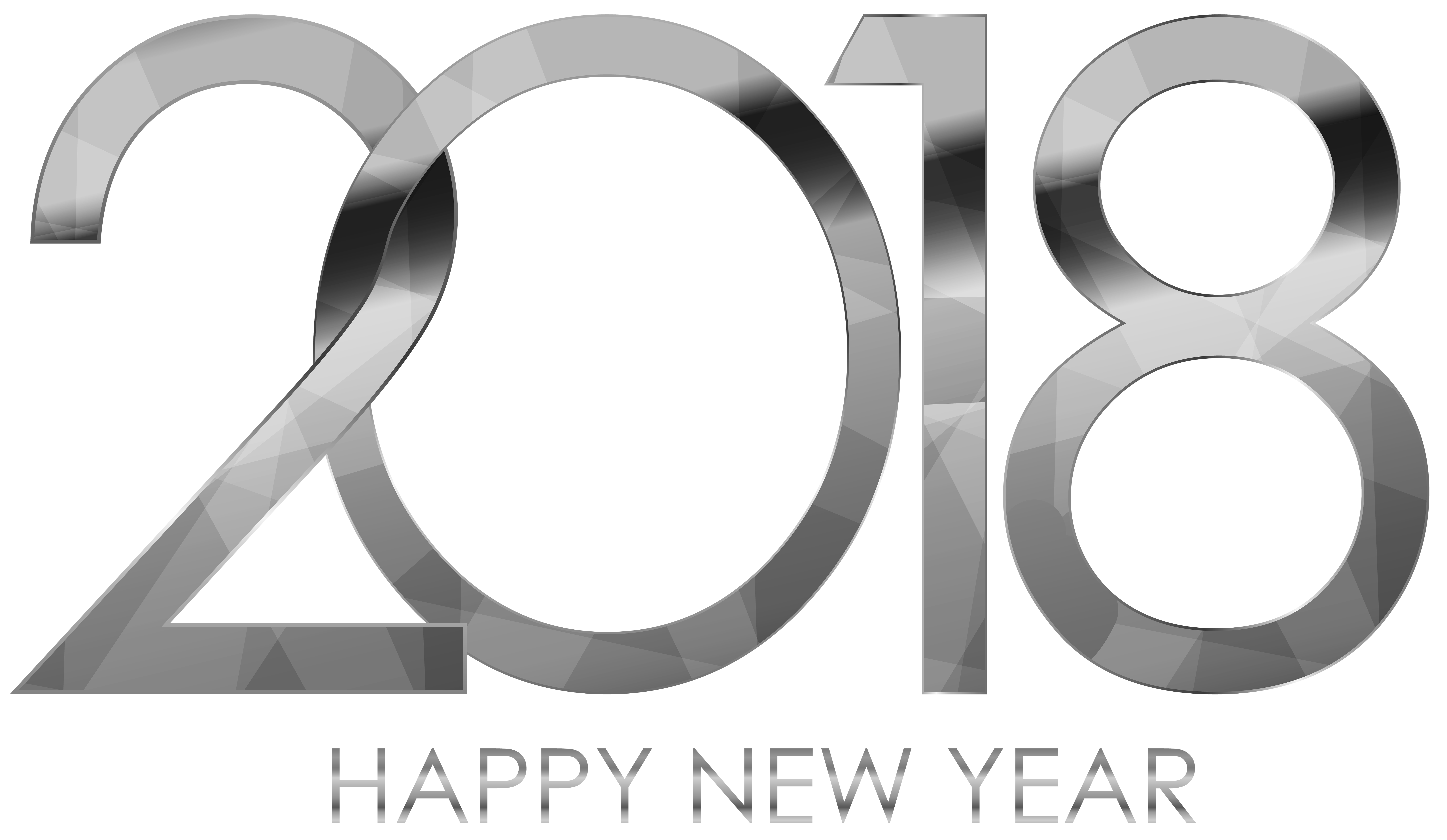 Clipart free new year.  happy silver gallery