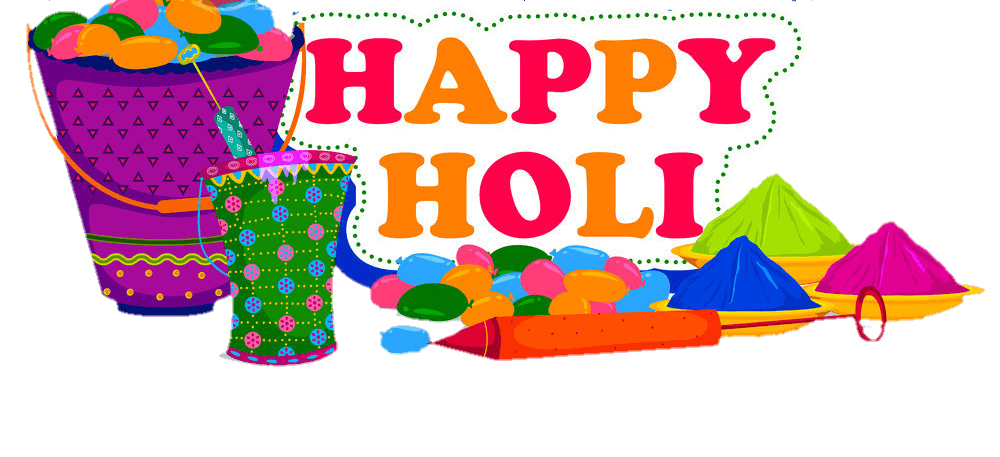 happy wishes in. 2018 clipart holi